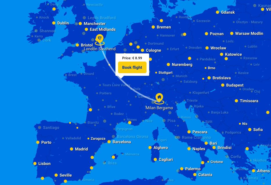 European Airline Low-Cost