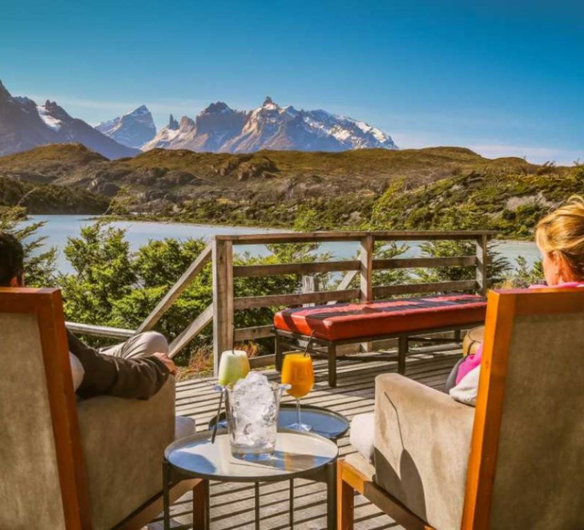 Hotel in Chilean Patagonia